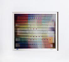 Yaacov Agam, Rainbow Spectrum, Agamograph
