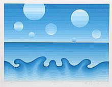 Roy Ahlgren, Lunar Sea, Serigraph