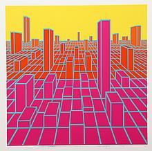 Roy Ahlgren, Urban Sprawl, Silkscreen