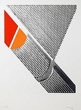 Michael Argov, Geometric Op-Art 5, Serigraph