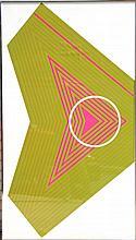 Aaronel deRoy Gruber, Large Op-Art 2 Serigraph