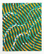 Stanley Hayter, Op-Art Abstract 1 from the Aquarius Suite, Silkscreen