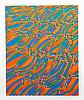 Stanley Hayter, Op-Art Abstract 2, from the Aquarius Suite, Silkscreen