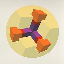 Marko Spalatin, Figure XX, Silkscreen
