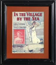 In the Village by the Sea, Sheet Music Cover