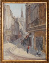 Graves, Notre Dame 1, Oil Painting