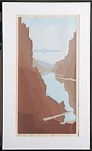 Jerry Schurr, Glen Canyon, Serigraph