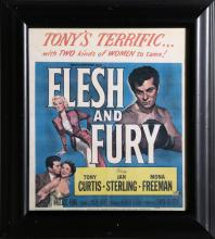 Flesh and Fury, Movie Poster