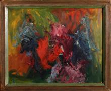 Modern Abstract, Oil Painting