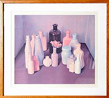 Tomar Levine, Bottle Still Life, Lithograph
