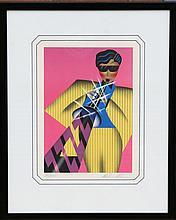 Robin Morris, Calypso, Serigraph