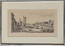 Thames, Etching