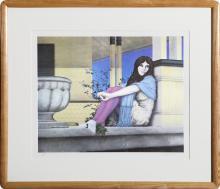 Robert Anderson, Robin's Summer Dream, Lithograph