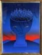 Jean Michel Folon, Pierre D'Aloy, Serigraph Poster