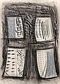 Porfirio Di Donna, Graphite & Pastel Drawing