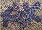 Cynthia Carlson, Hornet Rocks, Roplex, Mixed Media Painting