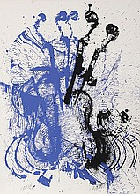 Arman, Electric Concerto, Serigraph