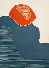 Gilou Brillant, Abstract 14, Aquatint Etching