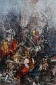 Leonardo Nierman, Wall, Oil Painting