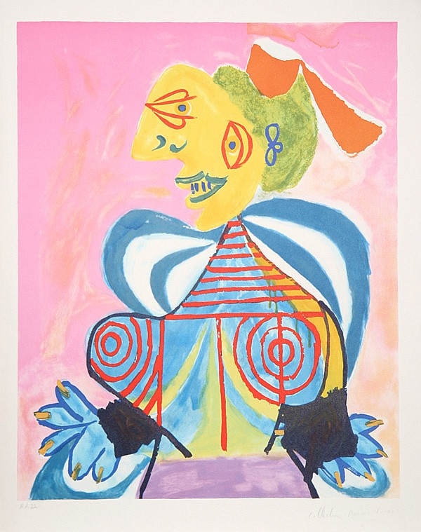 Pablo Picasso, L'Alesienne, Lithograph