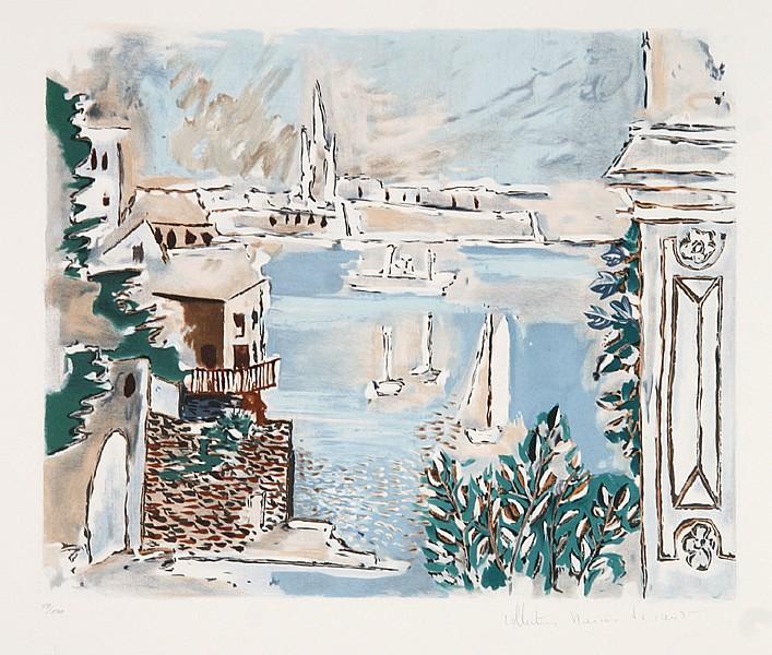 Pablo Picasso, Passage De Dinard, Lithograph