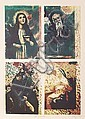 Italo Scanga, Four Saints, Offset Lithograph