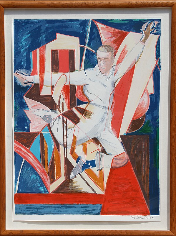 Larry Rivers, Astaire in the Air, Screenprint