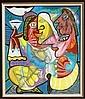 Menelaw Sete, Ocasamento, Painting