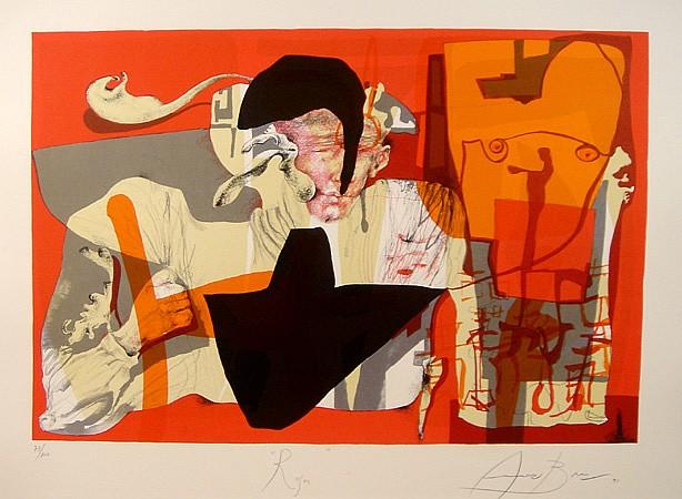 Eduardo Arranz-Bravo, Roger, Lithograph