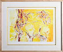 Cecily Brown, Abstract 8, Monoprint
