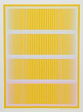 Richard Anuszkiewicz, Sequential II from Sequential portfolio, Serigraph