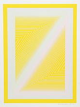 Richard Anuszkiewicz, Sequential I from Sequential portfolio, Serigraph