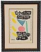 Pablo Picasso, Exposition Peinture, Vallauris 1956 (Czwiklitzer 95), Offset Lithograph