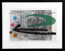 Joan Miro, Vers la Gauche from Indelible Miro, Offset Lithograph