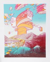 Charles Magistro, Laughing Waters, Serigraph
