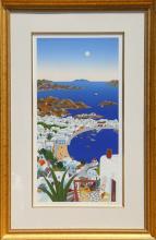 Thomas McKnight, Mykonos Horizon, Serigraph