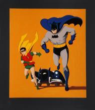 Mel Ramos, Batmobile (Black), Serigraph