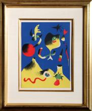 Joan Miro, Air from Verve Magazine Vol.1 #1, Lithograph