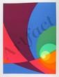 Herbert Aach, Split Infinity #B15, Lithograph