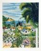 Kay Ameche, Malibu, CA, Serigraph