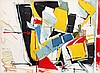 Jasha Green, Abstract Cubist (8), Lithograph