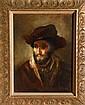 Friedrich Schaarschmidt, Portrait of a Man, Oil Painting