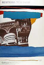 Robert Motherwell, Cultural Institutions, Poster