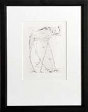 Salvador Dali, Space Elephant, Etching