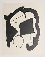 Robert Motherwell, Octavio Paz, Three Poems 25, Lithograph with Chine Colle