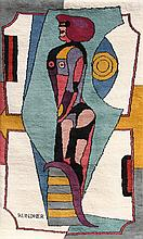 Richard Lindner, Untitled, Tapestry