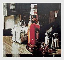Ralph Goings, Still Life With Sugars, Lithograph