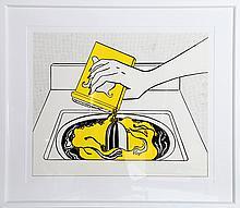 Roy Lichtenstein, Washing Machine (1961), Poster