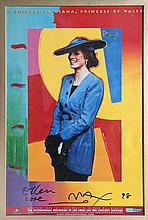 Peter Max, A Tribute to Lady Diana, Princess of Wales, Poster