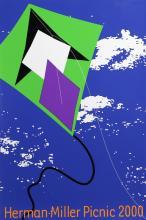 Stephen Frykholm, Herman Miller Summer Picnic (2000) - Kite, Poster